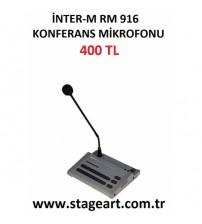 INTER-M-RM916 MİKROFON