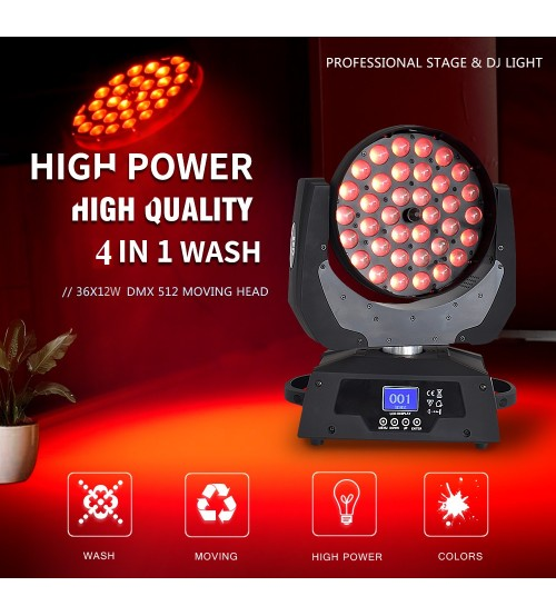 PRO 36X12 WATT RGBW