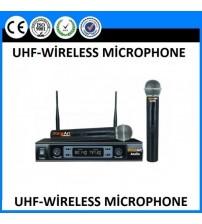 SN-750 UHF TELSİZ MİKROFON